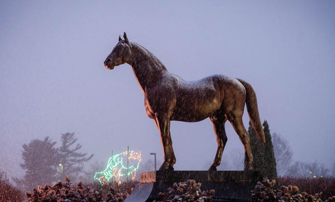 Man-O-War Statue