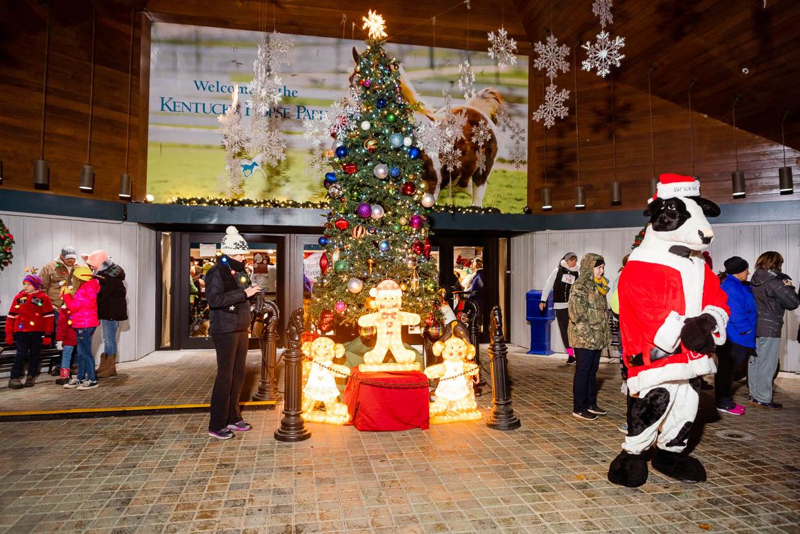 kentucky horse park christmas tree