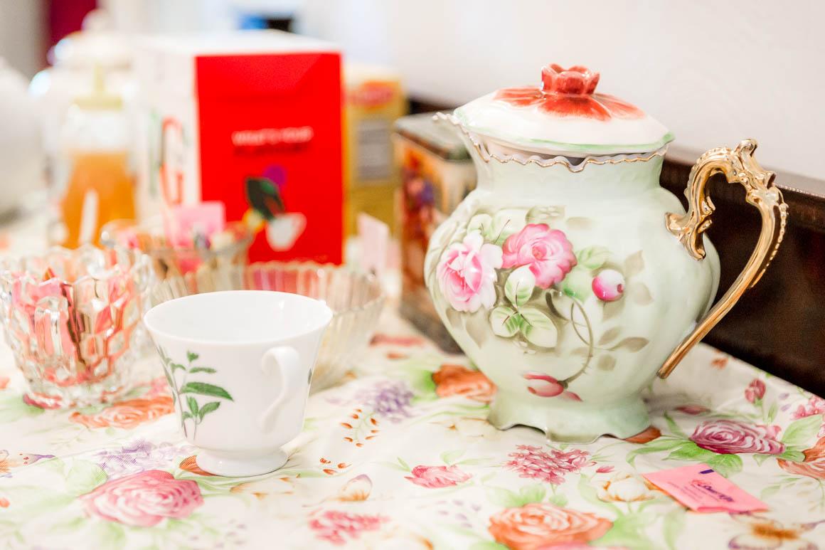 Beautiful antique teapot.